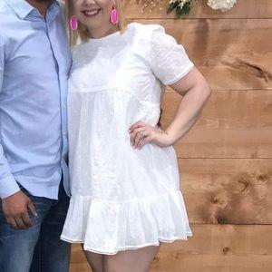 White Eyelet Dress.